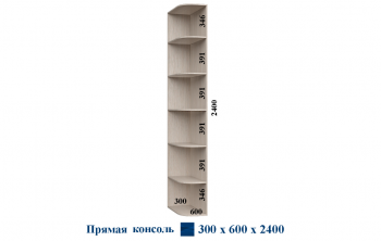 Консоль 300*600*2400 Прямая Феникс